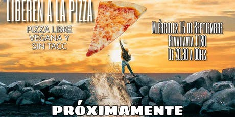 Pizza libre vegana SIN TACC entradas