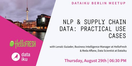 NLP & Supply Chain Data: Practical Use Cases Tickets