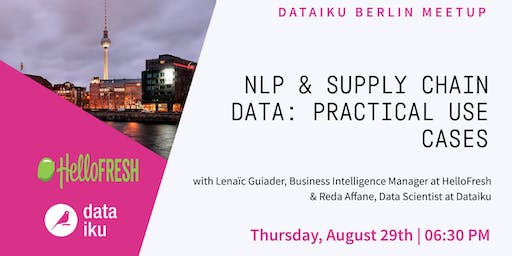 NLP & Supply Chain Data: Practical Use Cases