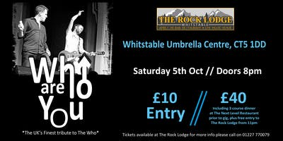 Who Are You - The UK's Finest tribute to The Who