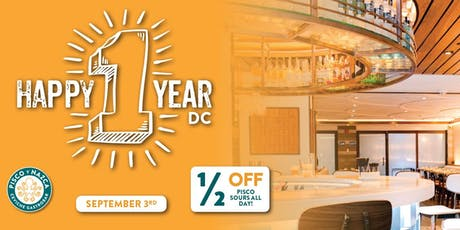 1-Year Anniversary Party at Pisco y Nazca DC! tickets