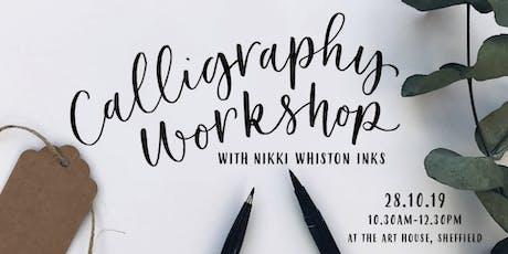 Modern Calligraphy Workshop - Brush Pen tickets