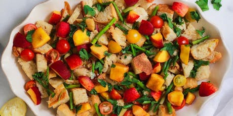 UBS Cooking School: Peach & Sourdough Panzanella tickets