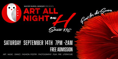 Art All Night on H tickets