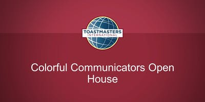Strongsville Toastmasters (Colorful Communicators) Open House