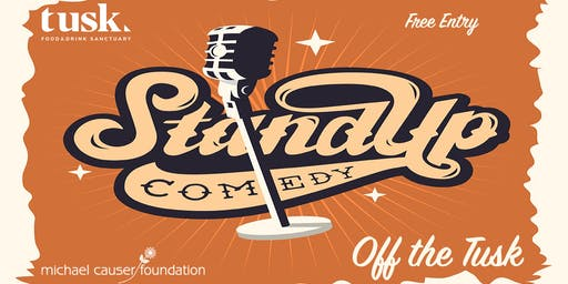 Off the Tusk: Stand-Up Comedy Fundraiser