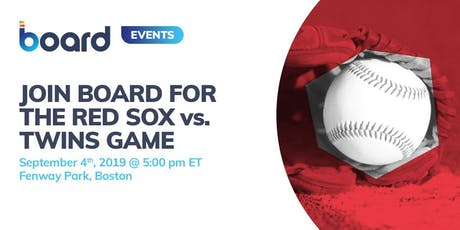 Join Board for the Red Sox vs. Minnesota Twins Game tickets