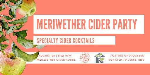 Meriwether Cider Party!