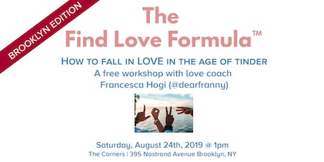 BROOKLYN EDITION: The Find Love Formula™ tickets