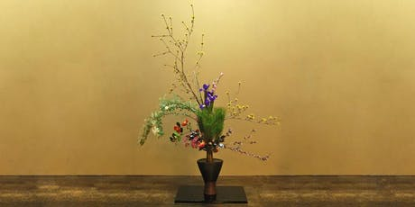 Ikebana Japanese Flower Arranging Class £45 (inc Hot Meal & Tea) tickets