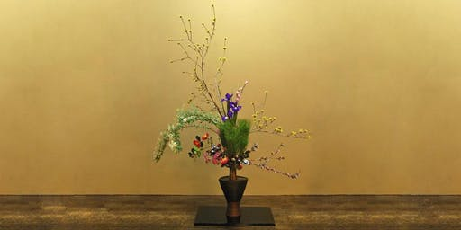 Ikebana Japanese Flower Arranging Class £45 (inc Hot Meal & Tea)