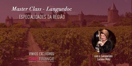 Masterclass Languedoc tickets