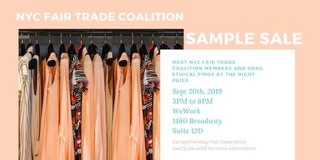 NYC Fair Trade Coalition Sample Sale tickets
