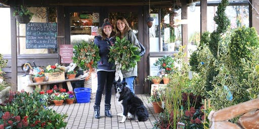 Holly Wreath Workshop With Jacky & Peter | 9th Workshop