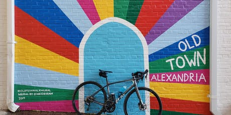Alexandria murals bike ride tickets