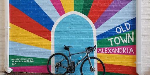 Alexandria murals bike ride