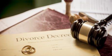 Planning for Divorce tickets