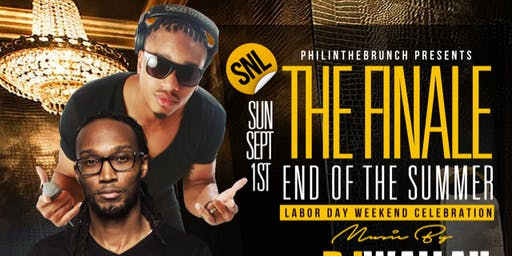 THE FINALE: Special Labor Day Weekend Event: End of Summer Celebration!