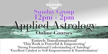 SUNDAY *SEPTEMBER GROUP :  APPLIED ASTROLOGY tickets