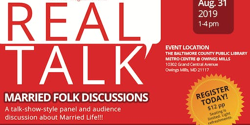 REAL TALK - Marriage Folk Discussions