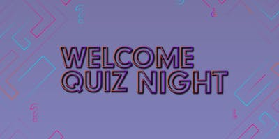 Freshers Welcome Quiz Night