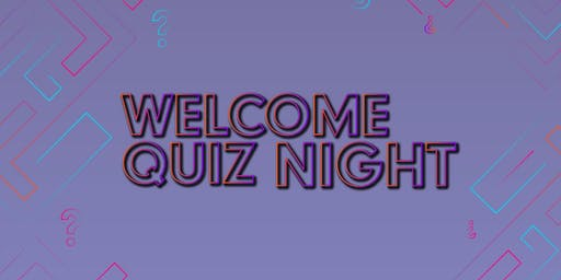 Freshers Welcome Quiz Night