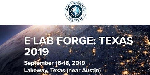 eLab Forge Texas 2019