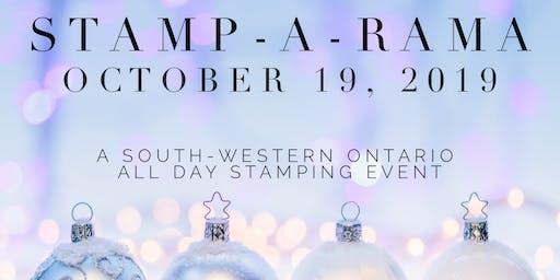 Stamp-A-Rama -  October 19, 2019