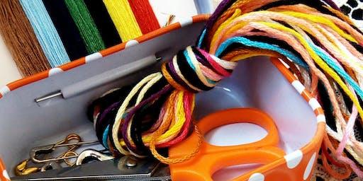Textile Art Design Workshop: Autumn Season
