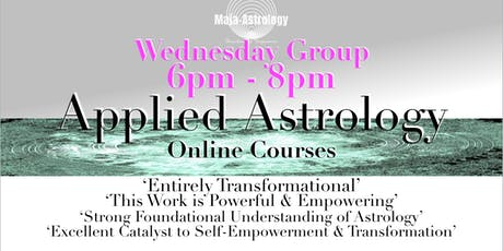 WEDNESDAY GROUP Applied Astrology *SEPTEMBER 2019   tickets