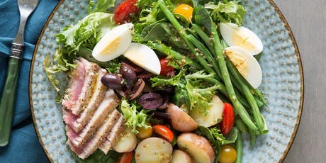 UBS Cooking School: Seared Tuna Nicoise Salad tickets