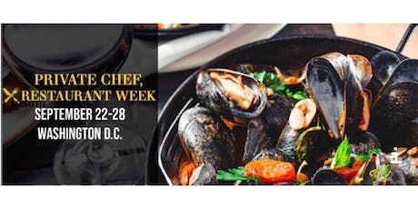 Private Chef No Restaurant Week: Chefs and Cocktails Closing Event tickets