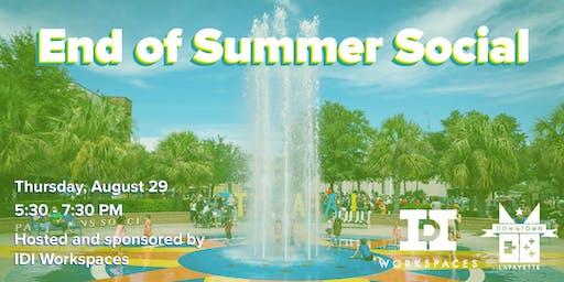 DLU End of Summer Social