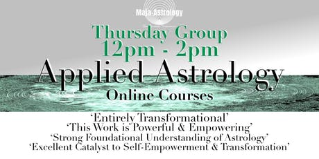 THURSDAY GROUP Applied Astrology *SEPTEMBER 2019 tickets