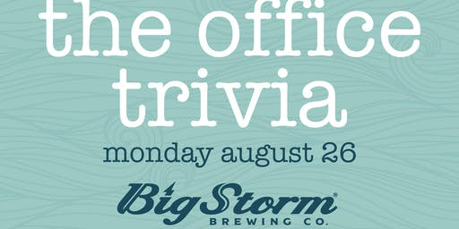 The Office Trivia at Big Storm Pasco