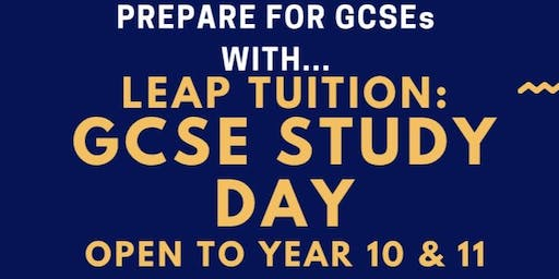 Leap Tuition: GCSE Study Day