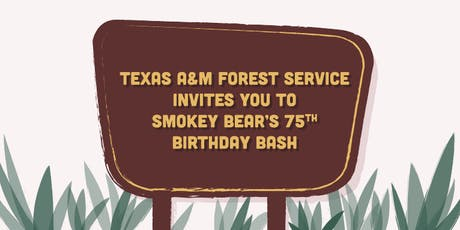 Smokey Bear's 75th Birthday Bash tickets