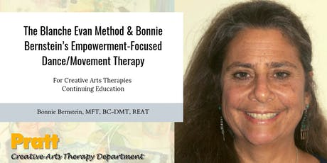 The Blanche Evan Method & Bonnie Bernstein's Empowerment-Focused DMT tickets