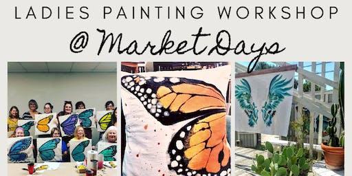 Paint, Sip & Shop at Market Days at Liberty Crossing