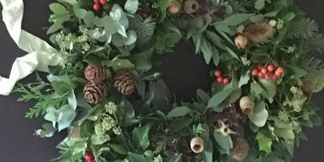 Christmas Wreath Workshop - Childswickham  tickets