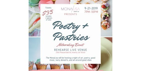 Poetry & Pastries Networking Event tickets