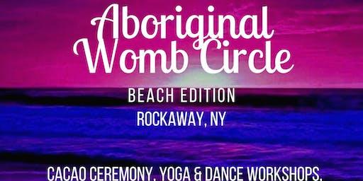 Aboriginal Womb Circle: Beach Edition