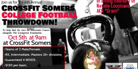 Crossfit Somers 6th Annual College Football Throwdown tickets