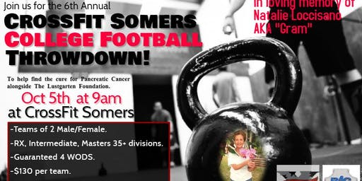 Crossfit Somers 6th Annual College Football Throwdown