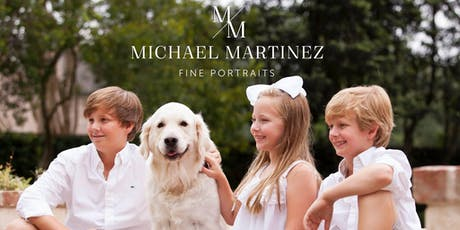 Michael Martinez Holiday Portraits at Bering's Bissonnet - Oct. 20 tickets