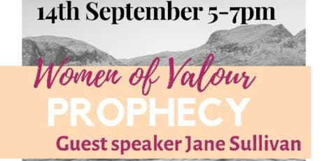 Women of Valour- The Prophetic with Jane Sullivan  tickets
