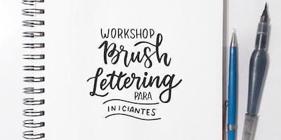 Workshop de Brush Lettering - João Pessoa