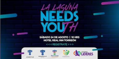 La Laguna Needs You(th) tickets