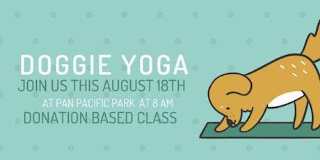 Sunday Doggie Yoga ****Donation Based Class tickets