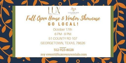 Fall Open House & Vendor Showcase